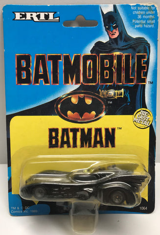 TAS037923 - 1989 ERTL Batman Die-Cast Metal Batmobile