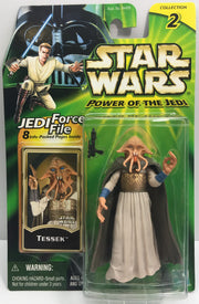 (TAS033238) - 2000 Hasbro Star Wars Power Of The Jedi Tessek (Collection 2), , Action Figure, Star Wars, The Angry Spider Vintage Toys & Collectibles Store  - 1