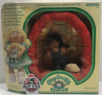 TAS038413 - 1983 Coleco Cabbage Patch Kids Pin-Ups Doll Rudy