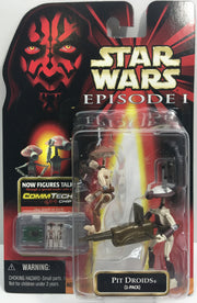 (TAS033244) - 1999 Hasbro Star Wars Episode I CommTech Pit Droids (2-Pack), , Action Figure, Star Wars, The Angry Spider Vintage Toys & Collectibles Store  - 1