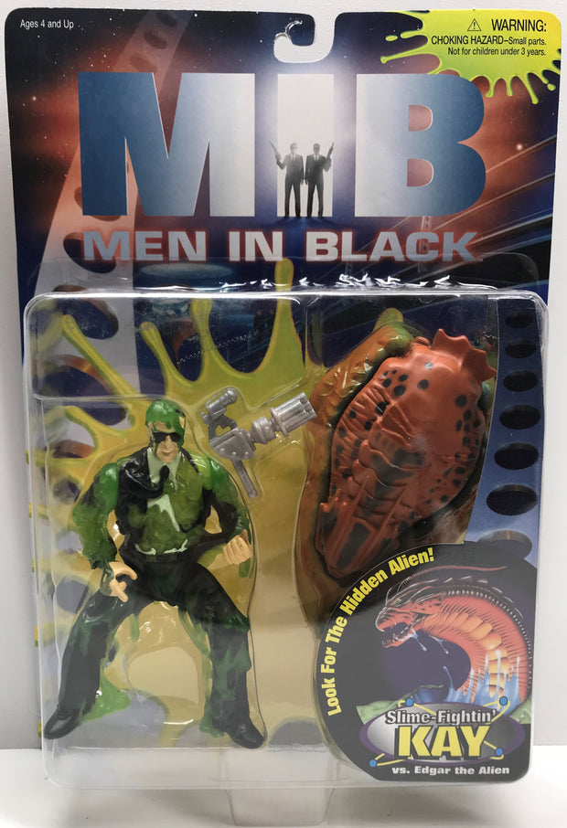 TAS038417 - 1997 Galoob MIB Men In Black - Slime-Fightin' Kay