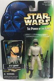 (TAS033263) - 1996 Hasbro Star Wars The Power Of The Force AT-ST Driver Figure, , Action Figure, Star Wars, The Angry Spider Vintage Toys & Collectibles Store  - 1