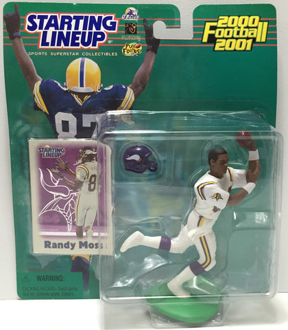 (TAS035065) - 2000 Hasbro Starting Lineup Figure - Football - Randy Moss, , Action Figure, Starting Lineup, The Angry Spider Vintage Toys & Collectibles Store  - 1