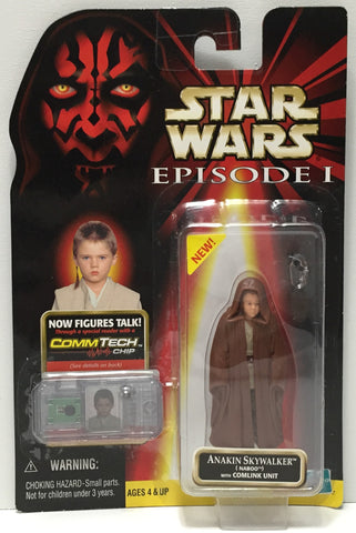 (TAS035070) - 1999 Hasbro Star Wars Episode I Figure CommTech - Anakin Skywalker, , Action Figure, Star Wars, The Angry Spider Vintage Toys & Collectibles Store  - 1