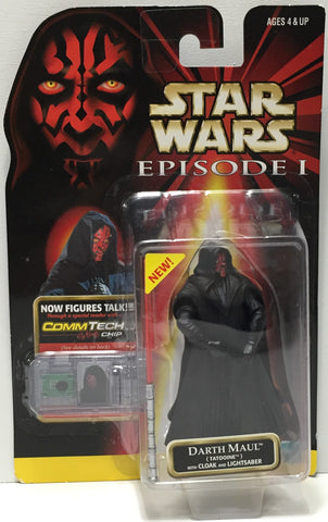 (TAS035069) - 1999 Hasbro Star Wars Episode I Figure w/ CommTech - Darth Maul, , Action Figure, Star Wars, The Angry Spider Vintage Toys & Collectibles Store  - 1