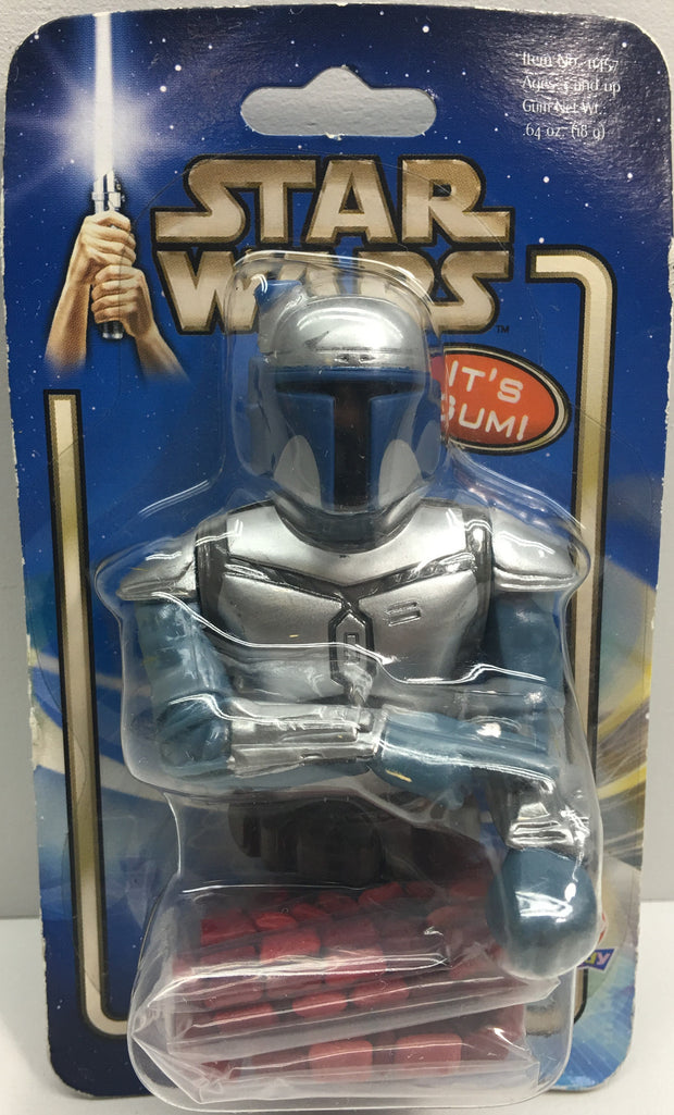 (TAS033274) - 2002 Hasbro Star Wars Attack Of The Clones Jango Fett Gum & Figure, , Action Figure, Star Wars, The Angry Spider Vintage Toys & Collectibles Store  - 1