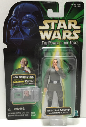 (TAS035086) - 1999 Hasbro Star Wars The Power of the Force Figure Admiral Motti, , Action Figure, Star Wars, The Angry Spider Vintage Toys & Collectibles Store  - 1