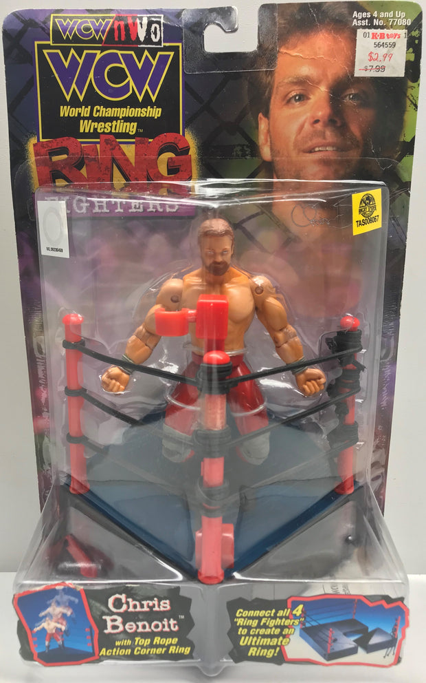 TAS038367 - 1999 Toy Biz WCW Wrestling Ring Fighters - Chris Benoit