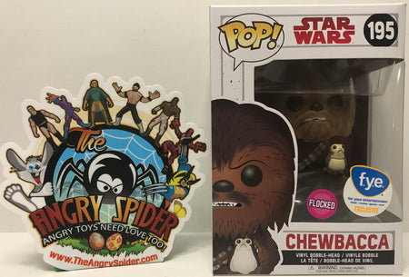 TAS040860 - 2017 Funko Pop! Star Wars Vinyl Bobble-Head - Chewbacca #195