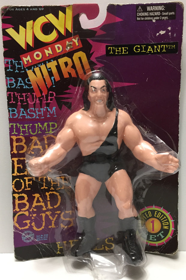 (TAS035100) - 1997 Toy Makers WCW Monday Nitro Figure - The Giant, , Action Figure, Wrestling, The Angry Spider Vintage Toys & Collectibles Store  - 1