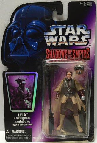 (TAS035077) - 1996 Hasbro Star Wars Shadows of the Empire Figure - Leia, , Action Figure, Star Wars, The Angry Spider Vintage Toys & Collectibles Store  - 1