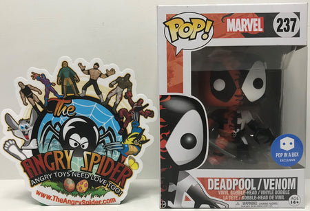 TAS040861 - 2017 Funko Pop! Marvel Vinyl Bobble-Head - Deadpool / Venom #237