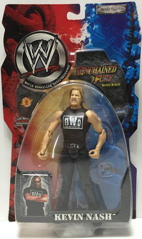 (TAS035097) - 2002 Jakks Pacific WWF Unchained Fury Action Figure - Kevin Nash, , Action Figure, Wrestling, The Angry Spider Vintage Toys & Collectibles Store  - 1