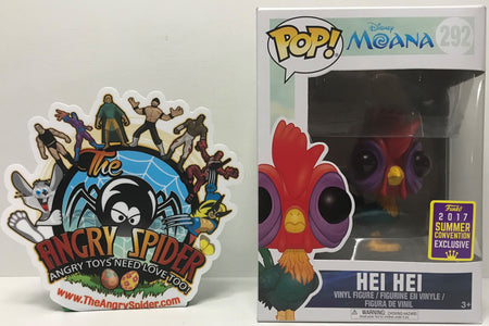 TAS040866 - 2017 Funko Pop! Disney Moana Vinyl Bobble-Head - Hei Hei #292