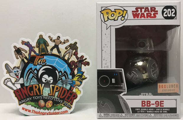 TAS040867 - 2017 Funko Pop! Star Wars Vinyl Bobble-Head - BB-9E #202