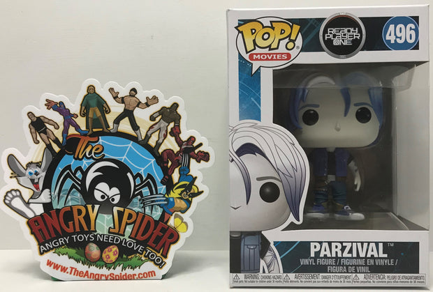 TAS040868 - 2017 Funko Pop! Movies Ready Player One - Parzival #496