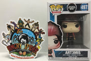 TAS040869 - 2017 Funko Pop! Movies Ready Player One - Art3Mis #497