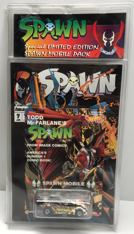 TAS038383 - 1994 McFarlane Toys Spawn Mobile Die-Cast Car
