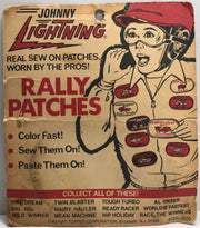 TAS038329 - Vintage Topper Johnny Lightning Rally Patches - Wild Winner