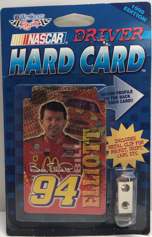 TAS038330 - 1998 WinCraft Nascar Racing Hard Card - Bill Elliott #94