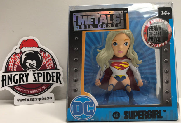 TAS038335 - 2016 Jada Toys DC Die-Cast Action Figure - Supergirl