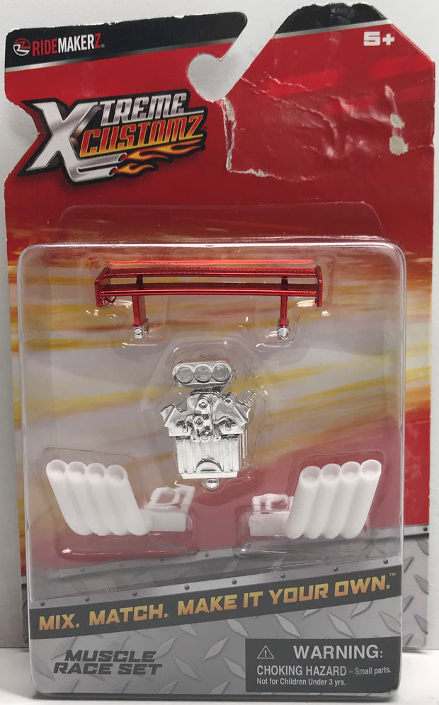 TAS038339 - 2012 Marvel RideMakerz Xtreme Customz - Muscle Race Set
