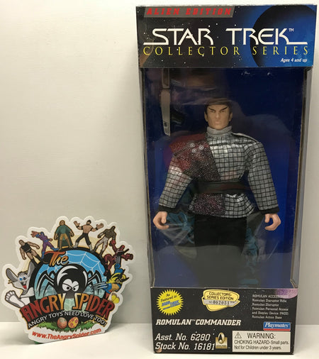 TAS040952 - 1996 Playmates Toys Star Trek Alien Edition Romulan Commander