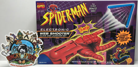 TAS040954 - 1995 Toy Biz Marvel Spider-Man Electronic Web Shooter