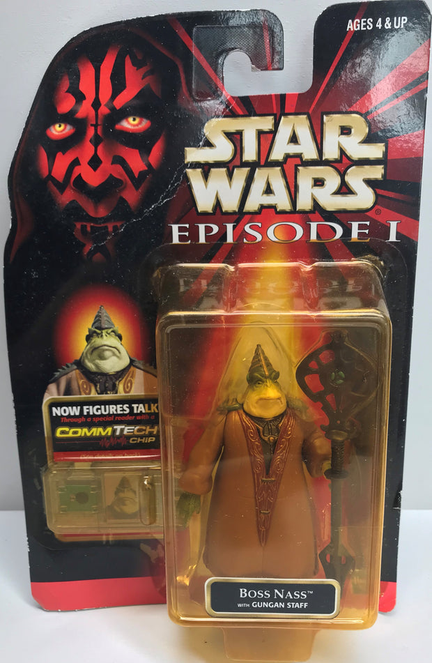 TAS038346 - 1998 Hasbro Star Wars Episode I - Boss Nass Gungan Staff