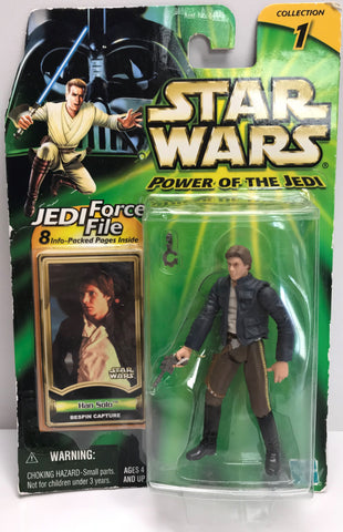 TAS038347 - 2000 Hasbro Star Wars Power Of The Jedi - Han Solo