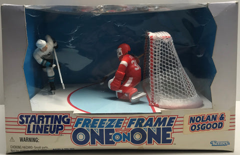 TAS038534 - 1997 Kenner Starting Lineup NHL Freeze Frame - Nolan & Osgood