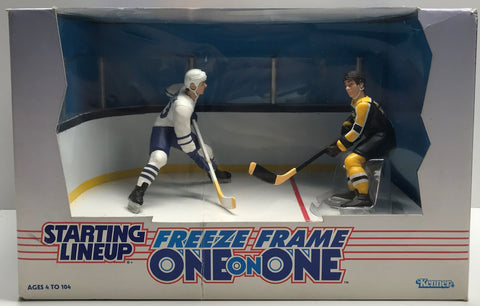 TAS038535 - 1997 Kenner Starting Lineup NHL Freeze Frame - Sundin & Bourque