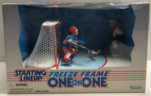TAS038536 - 1997 Kenner Starting Lineup NHL Freeze Frame - Richter & Sakic