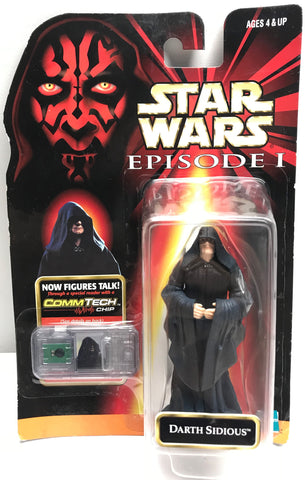 TAS038541 - 1998 Hasbro Star Wars CommTech - Darth Sidious Figure