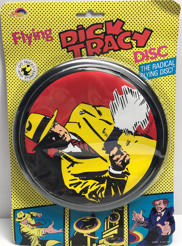 TAS038558 - 1990 Spectra Star Radical Flying Dick Tracy Disc Frisbee