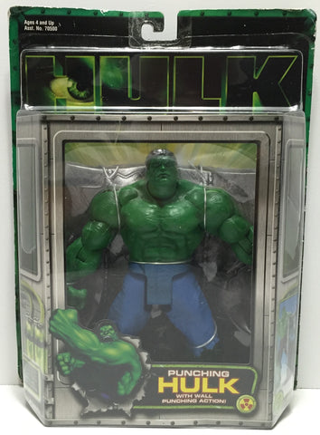 TAS037573 - 2003 Toy Biz Hulk With Wall Punching Action!