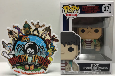 TAS041282 - 2018 Funko Pop! 8-Bit Stranger Things - Mike Vinyl Figure #17