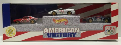 TAS037578 - 1996 Mattel Hot Wheels American Victory Die-Cast Set