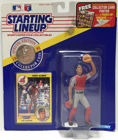 TAS037580 - 1991 Kenner Starting Lineup MLB Sandy Alomar