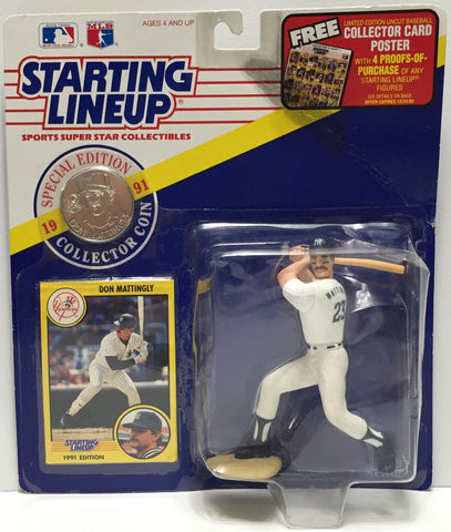 TAS037581 - 1991 Kenner Starting Lineup MLB Don Mattingly