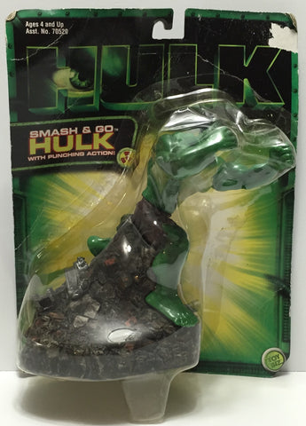 TAS037582 - 2003 Toy Biz Smash & Go Hulk