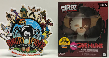 TAS041284 - 2018 Funko Dorbz Horror Vinyl Collectible - Gremlins Gizmo #185