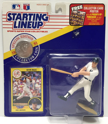 TAS037584 - 1991 Kenner Starting Lineup MLB Kevin Maas