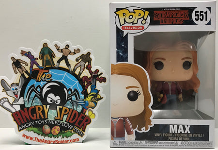 TAS041285 - 2017 Funko Pop! Television Stranger Things - Max Vinyl Figure #551