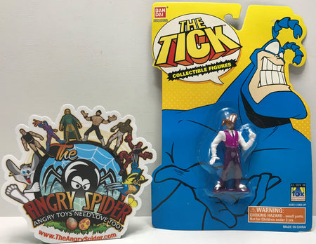 TAS041289 - 1994 Bandai The Tick Collectible Figures - Chairface Chippendale