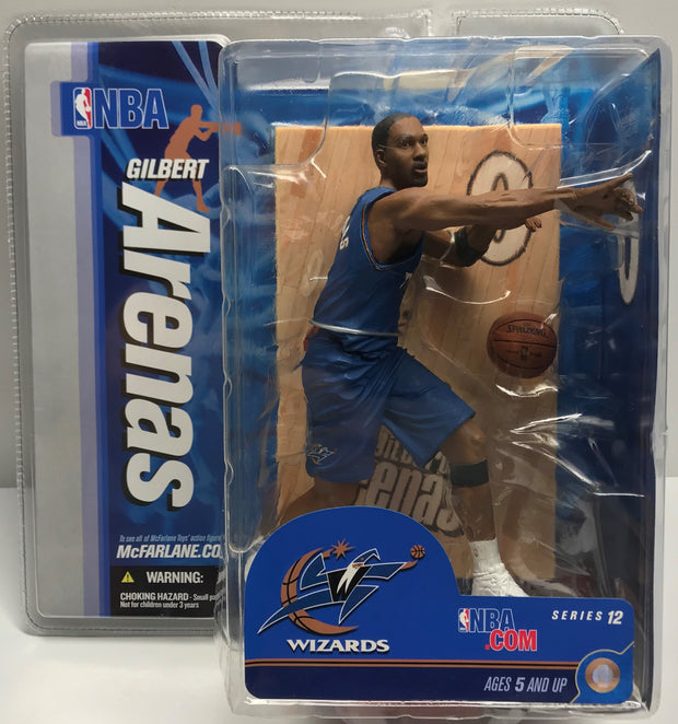 TAS037964 - 2007 McFarlane Toys NBA Washington Wizards Gilbert Arenas