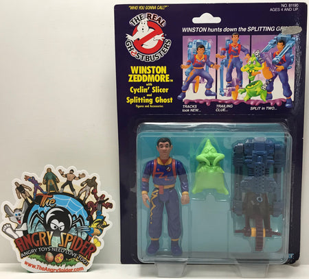 TAS041164 - 1986 Kenner The Real Ghostbusters - Winston Zeddmore