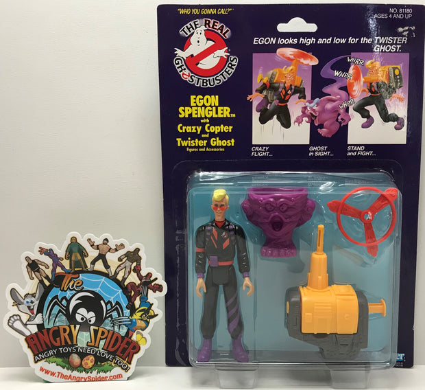 TAS041167 - 1986 Kenner The Real Ghostbusters - Egon Spengler