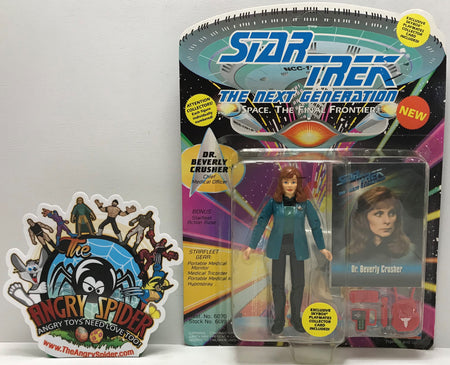 TAS041172 - 1993 Playmates Toys Star Trek The Next Generation - Dr. Beverly Crusher