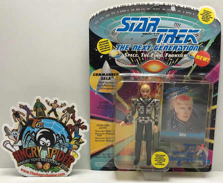 TAS041174 - 1993 Playmates Toys Star Trek The Next Generation - Commander Sela